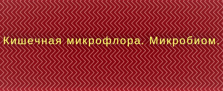 Mikroflora kishechnika.